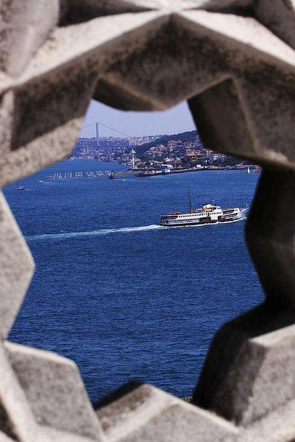 Istanbul - Bosphorus by Davide Germano