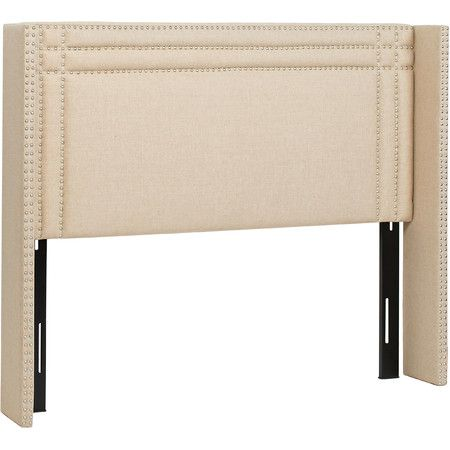 Outfit Your Master Suite Or Guest Room In Sophisticated Style With This  Wingback Bed, Showcasing