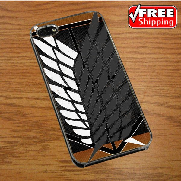 attack on titan logo carbon custom IPHONE 4 | 4S COVER CASE