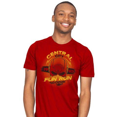 Central City Fun Run T-Shirt - Flash T-Shirt is $18 at Ript!