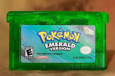 A personal favorite from my Etsy shop https://www.etsy.com/listing/503918111/pokemon-emerald-for-gba-reproduction-usa