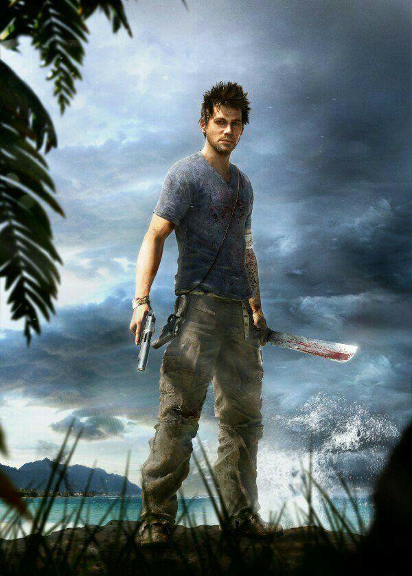 Far Cry 3 Jason Brody Wallpaper 4k Film Oyun Cizgi Film