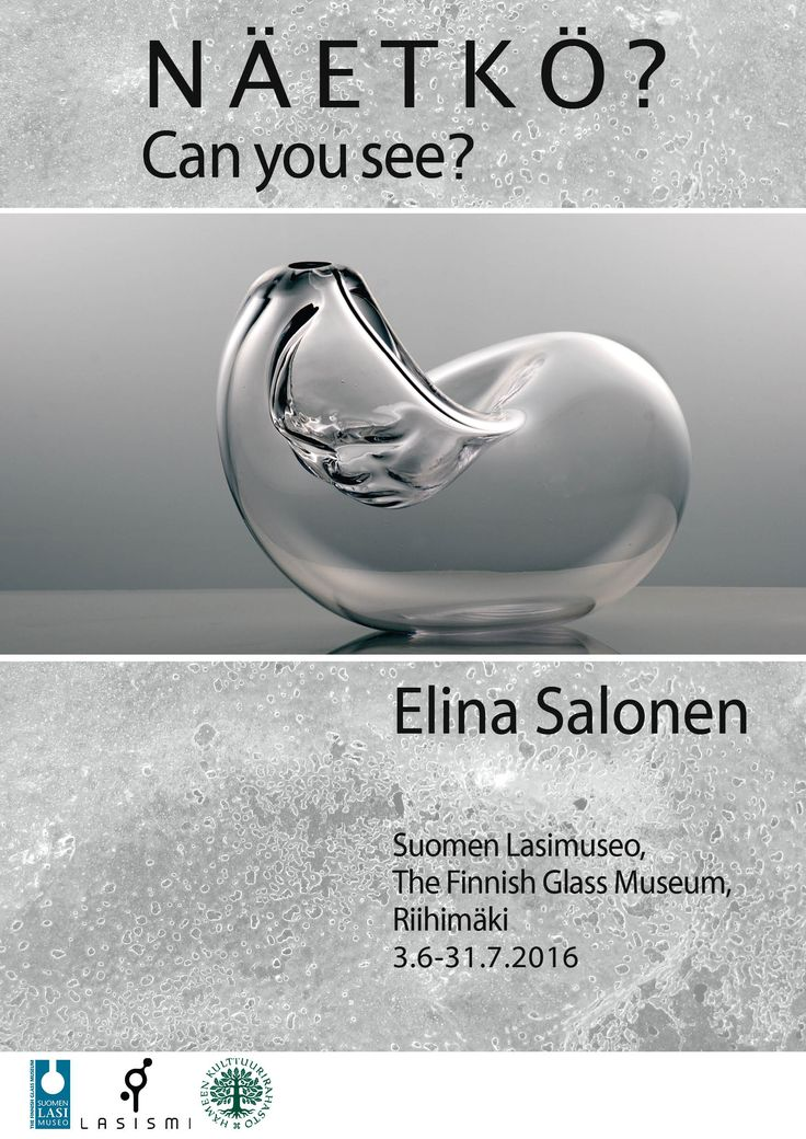 Exhibition in The Finnish Glass Museum