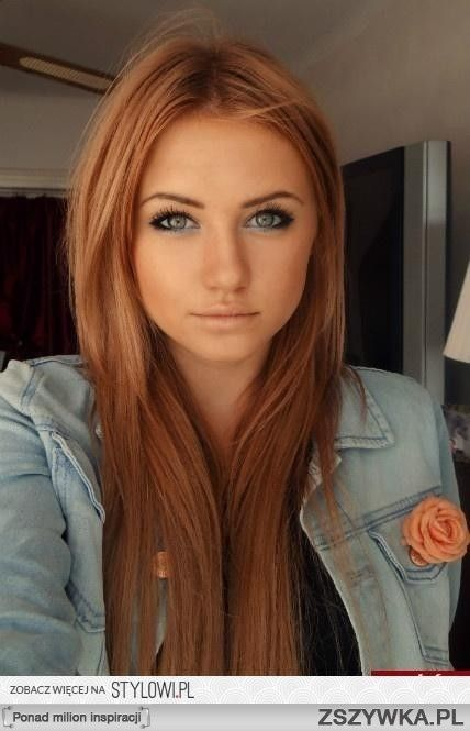 If I put blonde highlights in my hair it will turn out like this... #redhairproblems