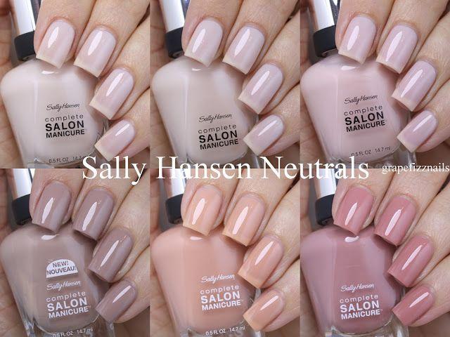 Sally Hansen Play It Neutral This Summer 2016