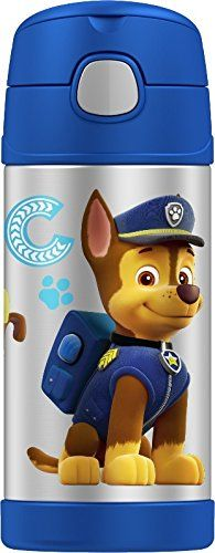 Thermos Funtainer 12 Ounce Bottle, Paw Patrol