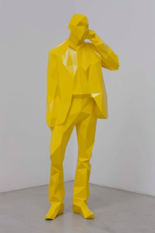"Xavier Veilhan,   ""The Man on the Phone""2010 Courtesy: Galerie Perrotin, Veilhan/ ADAGP, Paris 2011"