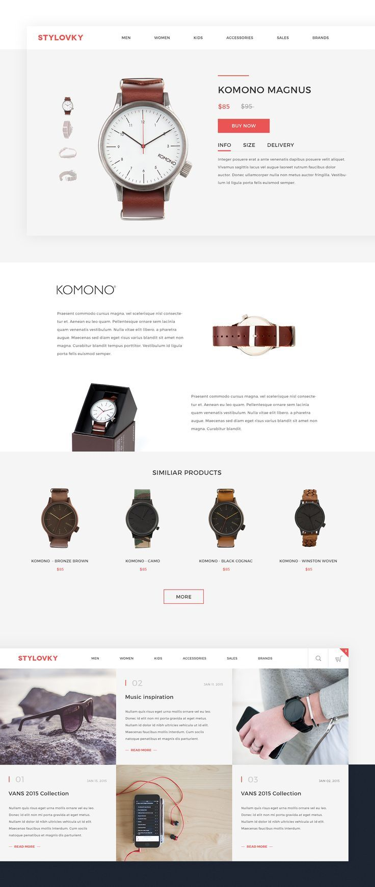 Web Design: 26 Modern & Trendy Examples | From up North
