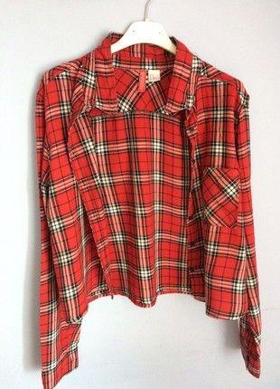 Kup mój przedmiot na #vintedpl http://www.vinted.pl/damska-odziez/koszule/21020824-czerwona-koszula-w-krate-hm