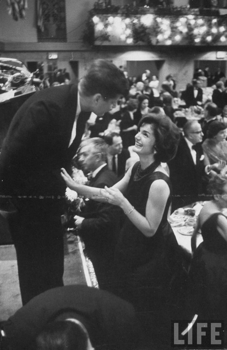 Find This Pin And More On The Kennedy's Jackie Bouvier Kennedy Onassis  With Husband Jfk