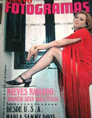 Eurocult actres Susan Scott ( aka Nieves Navarro ...