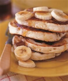 Barefoot Contessa - Recipes - Banana Sour Cream Pancakes