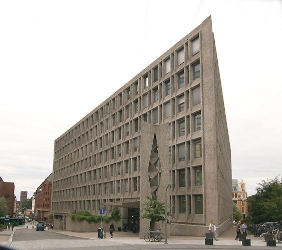 Norsk brutalisme:Oslo helseråd, Erling Viksjø, 1969