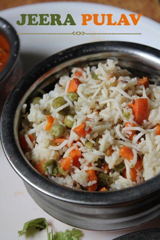 Jeera Rice Recipe / Jeera Pulav Recipe /