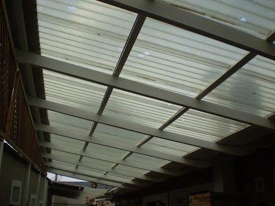 Policarbonato - Polysolution: Telha de Policarbonato click versus telha Ondulada - troque sua telha velha por uma telha click - super simples
