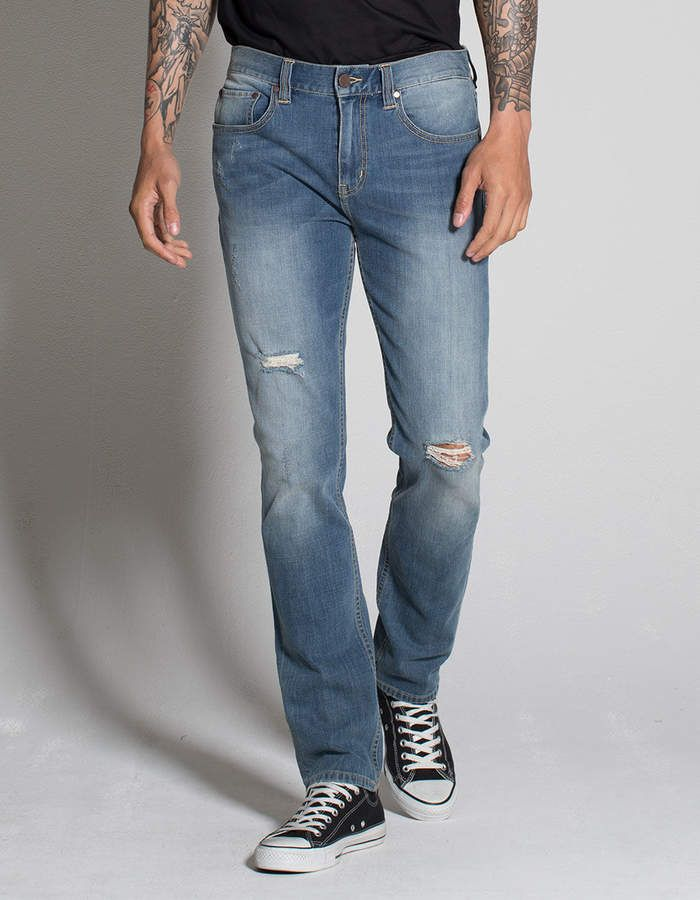 2505f2301 Rsq London Mens Skinny Stretch Ripped Jeans   Teen Guys Jeans ...