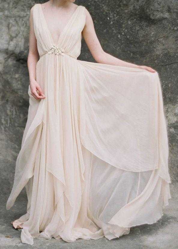 Best 25 greek wedding dresses ideas on pinterest greek for Greek goddess wedding dresses