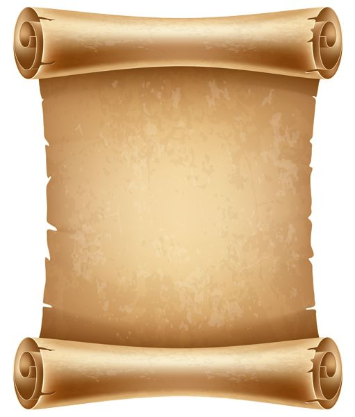 Ancient Scroll: 17 Best Scrolls PNG Images On Pinterest
