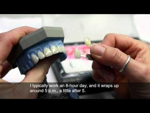 A day-in-the-life of a dental laboratory technician - YouTube