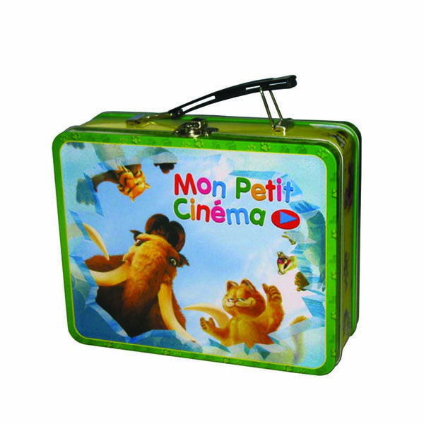 The food grade metal lunch boxes are made up of 100% food grade materials. It's easy-to-carry,convenience and very safe.
