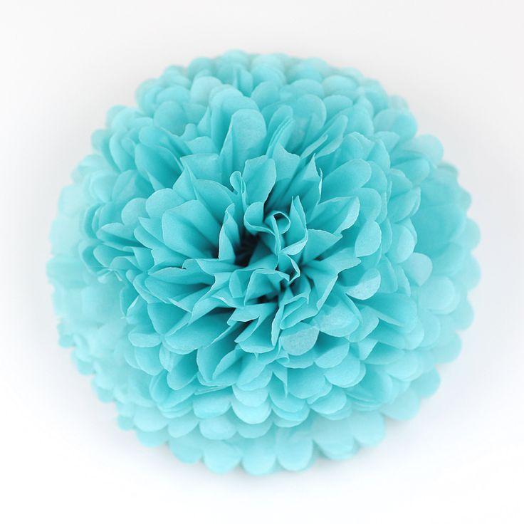 Carribean blue Tissue paper Pom Pom - Wedding Party Bridal Shower Birthday Nursery Decorations Available on Etsy! Sho...  https://www.etsy.com/listing/482105759/carribean-blue-tissue-paper-pom-pom?utm_campaign=crowdfire&utm_content=crowdfire&utm_medium=social&utm_source=pinterest