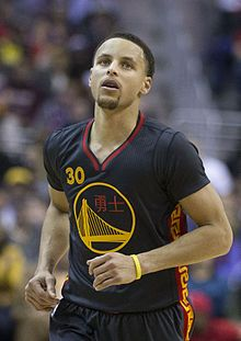 Stephen Curry an American professional basketball player plays for the Golden State Warriors of the NBA. He plays point guard position, considered by some to be the greatest shooter in NBA history. The 2015 NBA Most Valuable Player and a two-time NBA All Star, he is the son of former NBA player Dell Curry. Curry was selected with the sevewnth overall pick in the 2009 NBA draft by the Golden State Warriors. During 2012-13 season, he set the NBA record for three-pointers in 272. MVP in 2015.