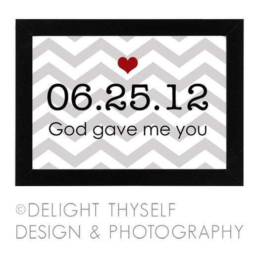 1 Year 12 Months 52 Weeks 365 Days Quotes: Valentine's Day / Anniversary Gift