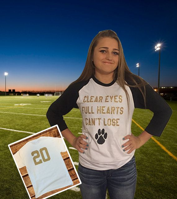Ladies Custom Football Shirt  Womens by MadKaySonCreations on Etsy