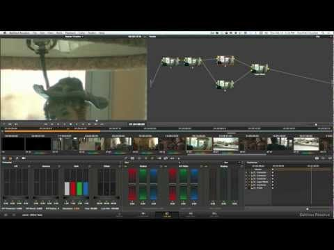 Colored Noise Reduction - Davinci Resolve & Blackmagic Cinema Camera - YouTube