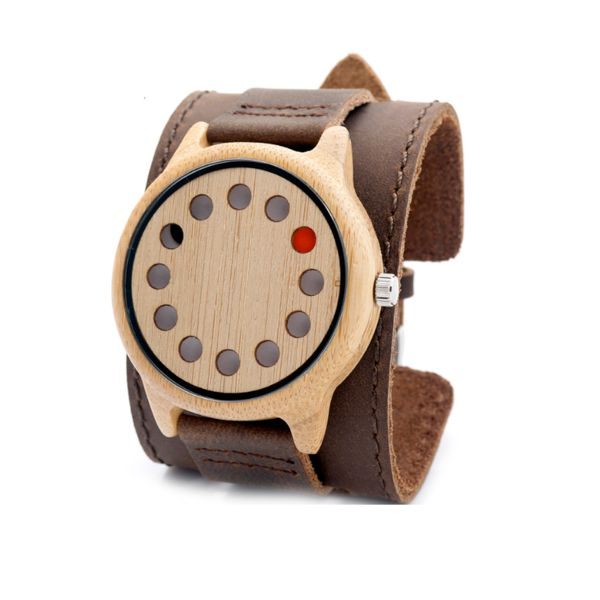 12 Hole Bamboo Watch