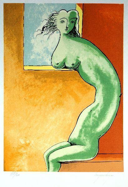 Cruzeiro Seixas #artist #serigraph #portuguese [untitled, 1969]