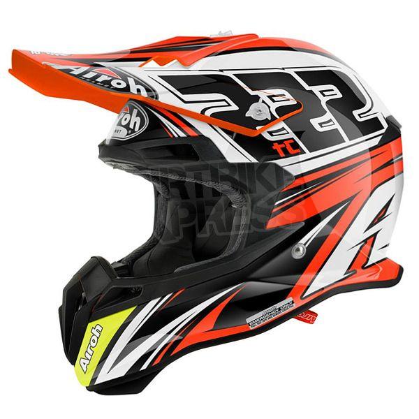 2015 Airoh Terminator 2.1 Helmet - TC15