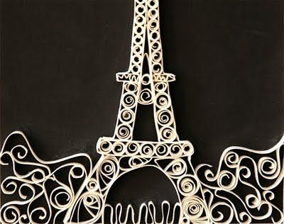 Paper Quilling: Paper Quilling, Paris, Crafts Ideas, Papercraft, Home Crafts, Eiffel Towers, Things Paper, Paper Crafts, Architecture Quilling