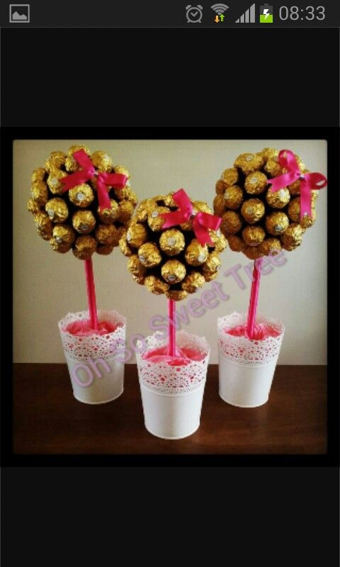 Ferrero roche sweet trees