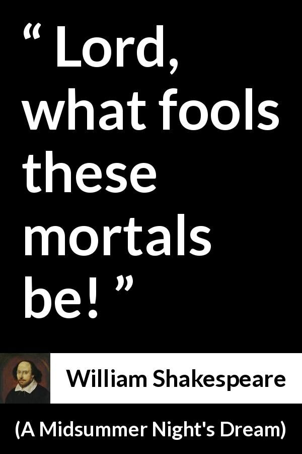 """an examination of william shakespeares a midsummer nights dream A midsummer night's dream"""" may have earned its high berth on the  shakespeare hit parade because it's a bundle of high-spirited hijinks, but."""