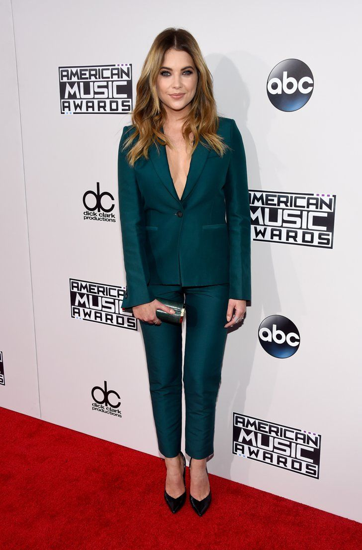 Pin for Later: Vote For Your Favorite Look From the 2015 American Music Awards Ashley Benson Wearing Max Azria Atelier.