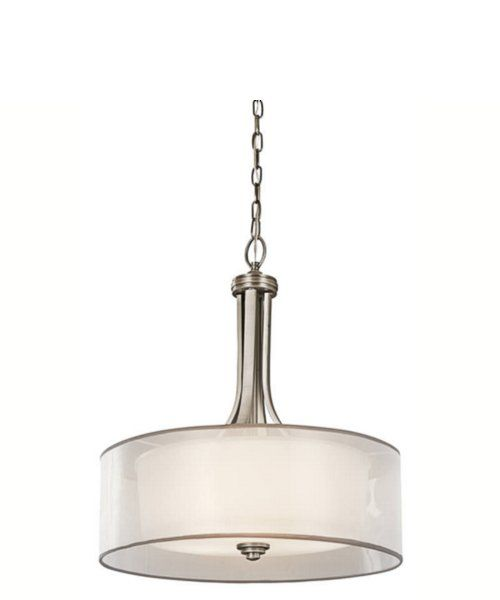 Kichler Lacey Inverted Pendent Antique Pewter 42385AP