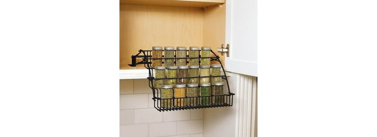 Rubbermaid� Pull Down Cabinet Spice Rack