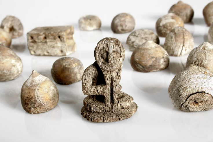 The National History of Iceland contains many unique relics, including this wonderful set of pieces for the Viking version of chess.
