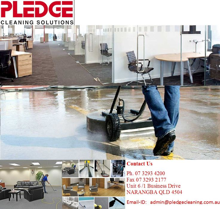 Pledge Cleaning Solution is highly appreciated for its professional cleaning services in Brisbane, provides tailor-made commercial and industrial cleaning solution. They help you to maintain a hygienic and healthy working environment at your working place.