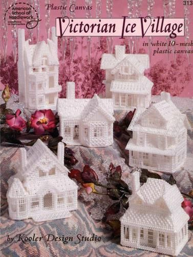 Free Plastic Canvas Pattern Victorian Ice Village Gallery.ru / Фото #1 - 1 - 2in1