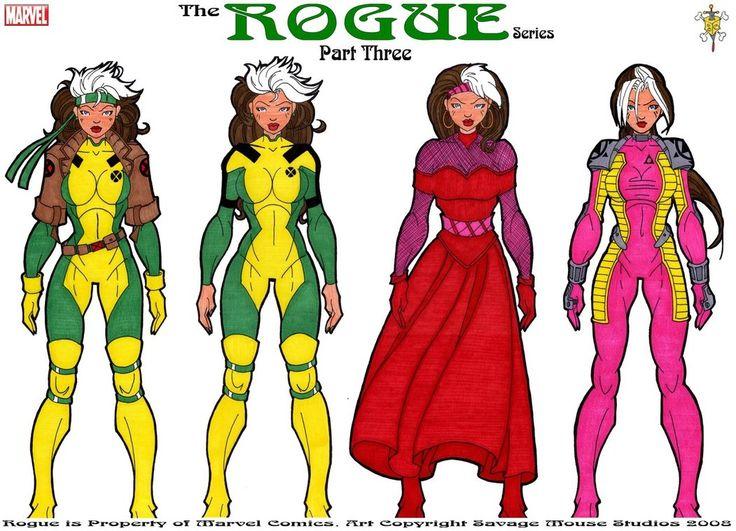 Rogue Series: Part Three by ~SavageMouse on deviantART
