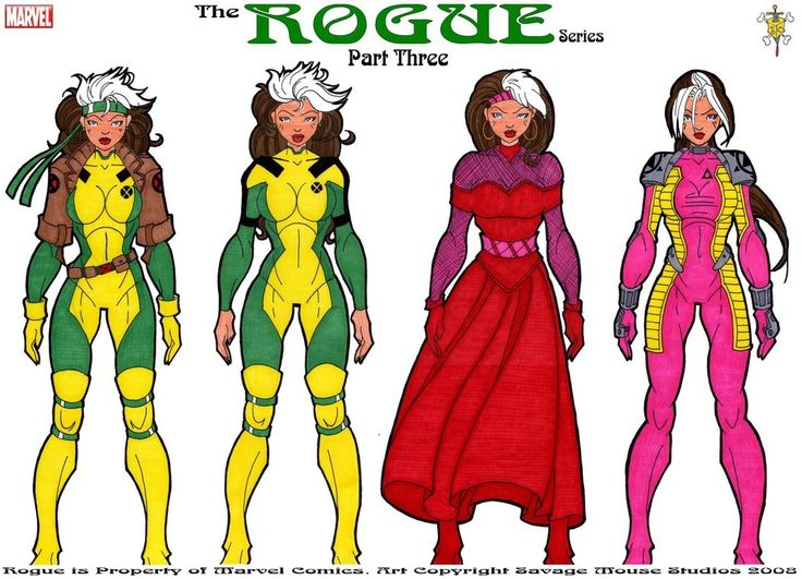 Rogue Series: Part Three by ~SavageMouse on deviantART