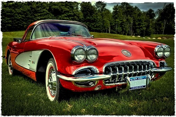 #Corvettes #Chevys #ClassicCars - 1960 Chevy Corvette