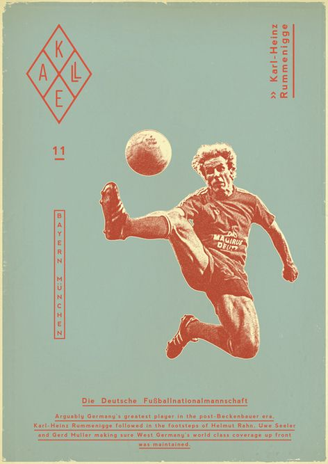 Sucker for Soccer by Zoran Lucić, via Behance
