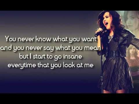 1) Here we go Again - Demi Lovato (Lyrics) - YouTube