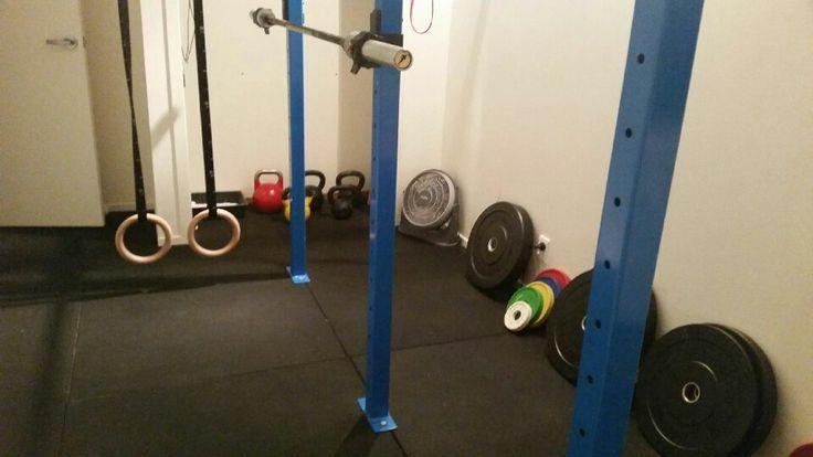 Lizzie's home gym