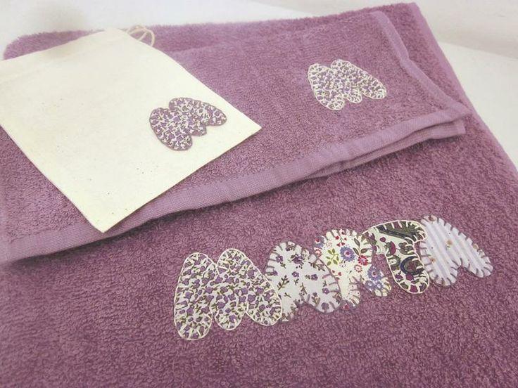 M s de 25 ideas nicas sobre toallas bordadas en pinterest - Toallas infantiles personalizadas ...