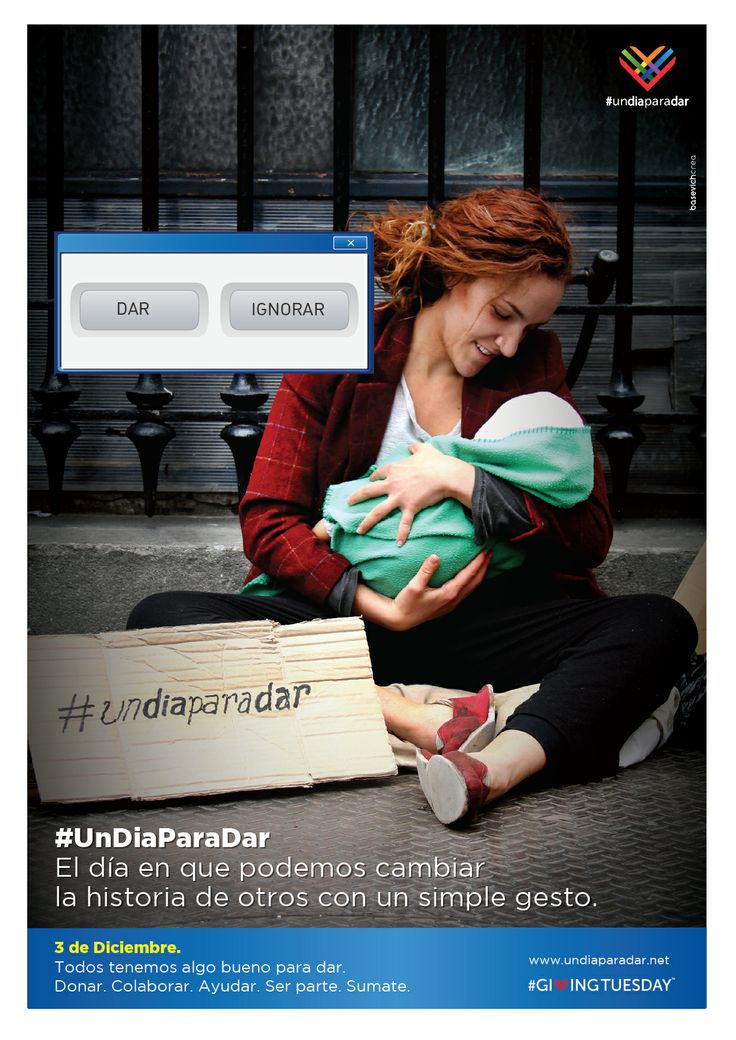 ¿Dar o ignorar? ¡Súmate a #GivingTuesday y #UnDiaParaDar!