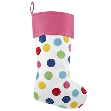 Confetti Stocking (Pink)